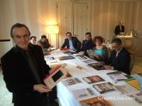 Trophées de l'Imprimerie 2014 avec les membre du jury
