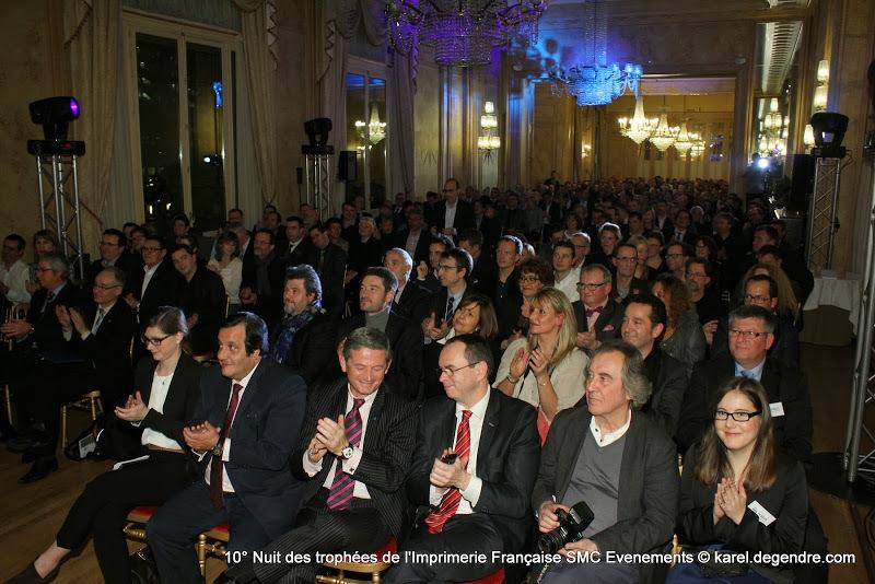 Photo 10e Nuit des Trophées de l'Imprimerie Française