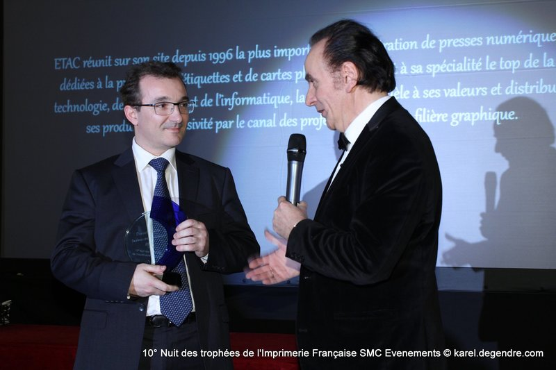 Photo Remise des Digital Awards de l'Impression Numérique 2014