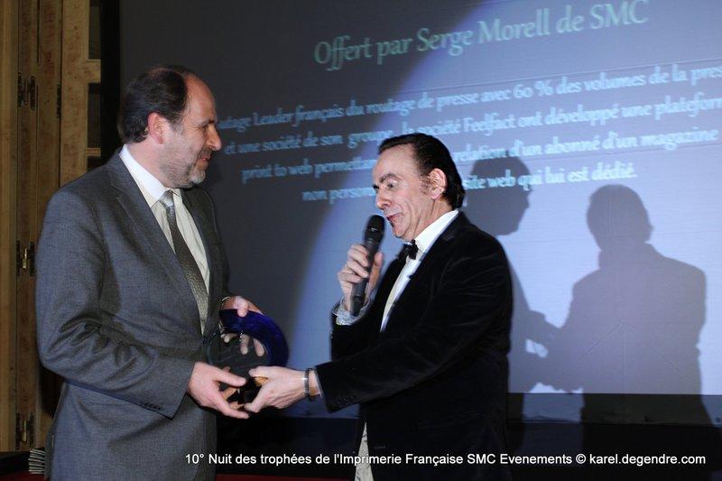 Photo Remise des Digital Awards de l'Impression Numérique 2014