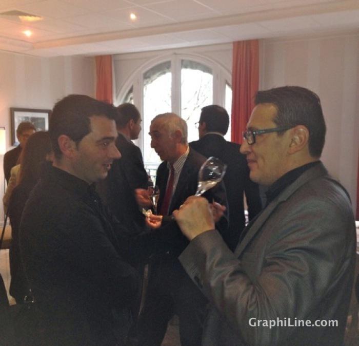 Photo Trophées de l'Imprimerie 2014 avec les membre du jury