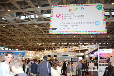 Photo Accueil du Salon Graphitec