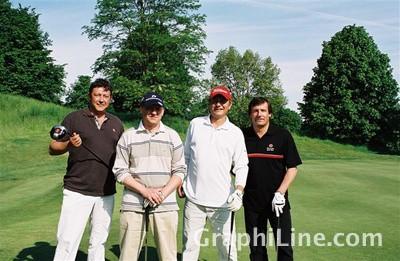 Photo Photo reportage : putt réussi pour le 19e Trophée de golf de l'imprimerie Sego (95)