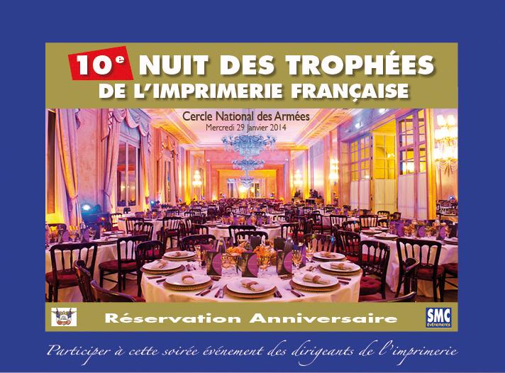 Photo 10e nuit des trophées de l'imprimerie