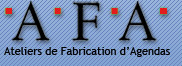 logo ATELIERS FABRICATION D'AGENDAS à Paris 10, 75010