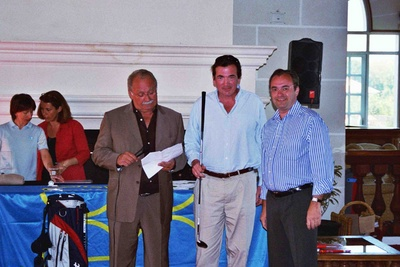 Photo Remise prix trophée de Golf de l'imprimerie Sego (95)