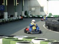 Sur le circuit de karting